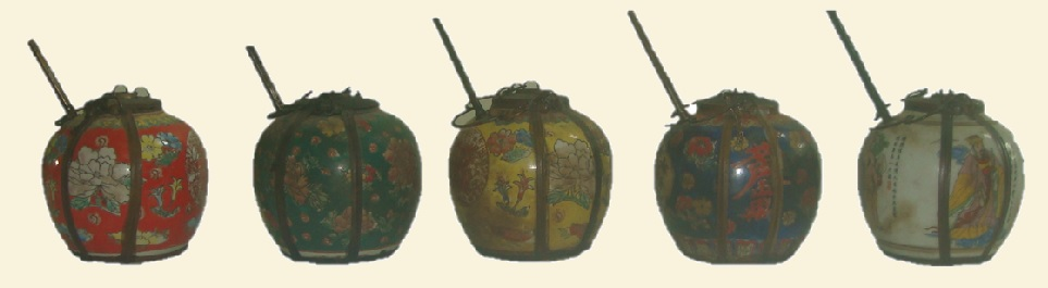 SE Asian Opium Smoking Pots