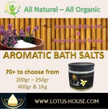 Aromatic Himalayan Bath Salt @ Lotus House