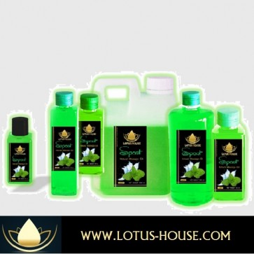Sport Massage Oil @ Lotus House