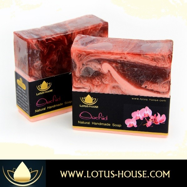 Tropical Soaps Orchid Lotus House Natural Floral Soaps