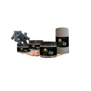 Bamboo Charcoal Aromatic Himalaya Bath Salt @ Lotus House