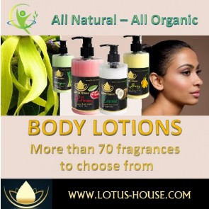 Body Lotions @ Lotus House