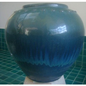 Vase-Medium Size-Blue