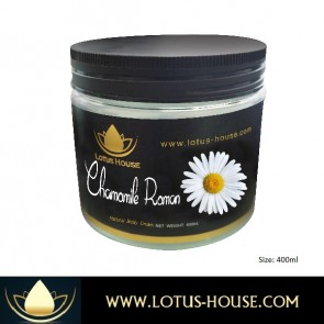 Chamomile Roman Body Cream - 400ml @ Lotus House