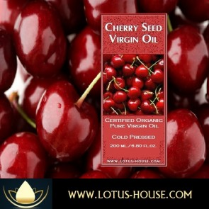 Cherry Seed - Organic Pure Virgin Oils @ Lotus House