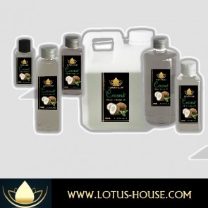 Coconut Premium Quality Massage Oil @ Lotus House