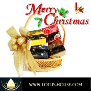 Lotus House Gift Basket @ www.lotus-house.com XMAS