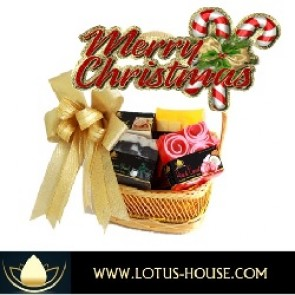 Lotus House Gift Basket @ Lotus House XMAS