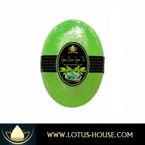 Green Bean & Green Tea Natural Luffa Soap @ Lotus House