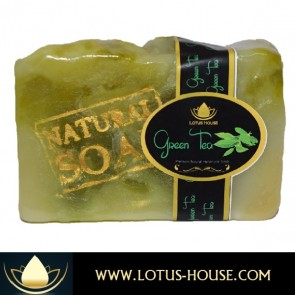 PREMIUM Green Tea Natural Handmade Soap @ Lotus House