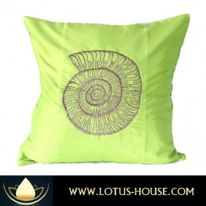 Green Silk Pillowcase - Sea Collection @ Lotus House