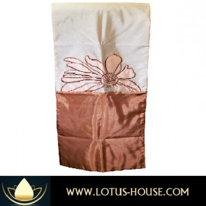 Floral Collection Bed Runner - Shades of Brown @ Lotus House