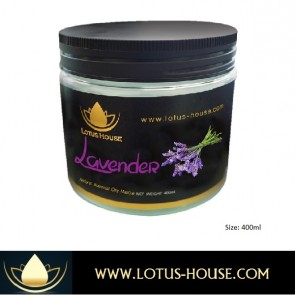 Lavender Botanical Clay Masque - 400ml @ Lotus House