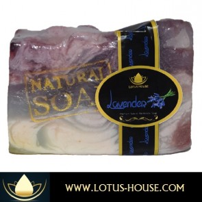 PREMIUM Lavender Natural Handmade Soap @ Lotus House