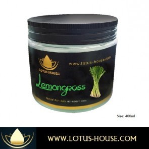Lemongrass Aromatic Himalaya Bath Salt - 400ml @ Lotus House