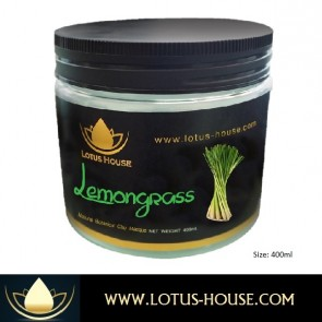 Lemongrass Botanical Clay Masque - 400ml @ Lotus House