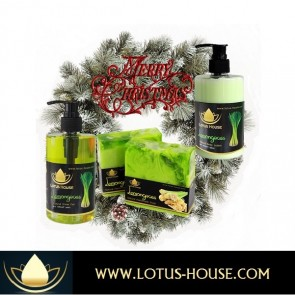 Christmas Gift Set - Lemongrass @ Lotus House
