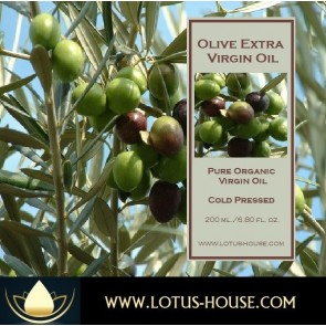 Extra Virgin Olive Oil - Organic Pure Virgin Oils @ Lotus House