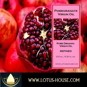 Pomegranate Seed - Organic Pure Virgin Oils @ Lotus House