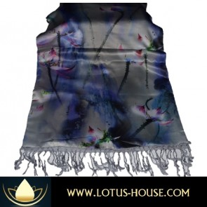 Asian Silver Lotus Flower - The Julia Collection @ Lotus House