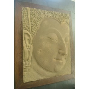 Buda-face-sculpture-sandstone