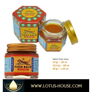 Tiger Balm @ Lotus House