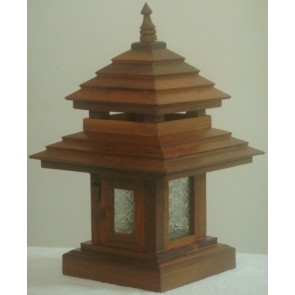 wooden-post-lamp-Thailand-electrical-garden-driveway-house