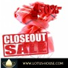 CLOSE OUT !! Red Hot Silk Scarf  (RE0973)